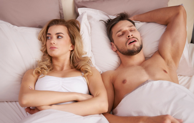 Wife can not sleep after sex